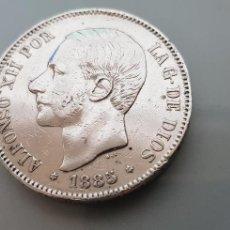 Monedas de España: MONEDA 5 PESETAS 1985 *87 PLATA ALFONSO XII 24,89GR.. Lote 125369183