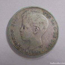 Monedas de España: MONEDA. UNA PESETA. 1900. ALFONSO XIII. VER. Lote 125387323