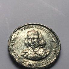 Monedas de España: PRECIOSA MONEDA DE 2º CENTENARIO DE PEDRO CALDERÓN DE LA BARCA CIRCA 1881. Lote 126392183