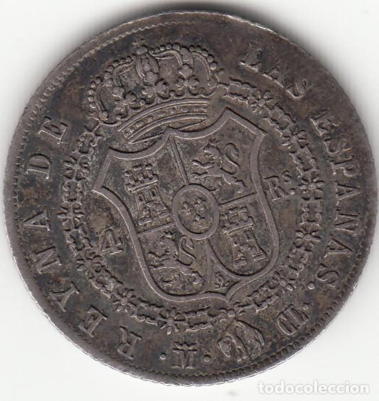 Monedas de España: ISABEL II: 4 REALES 1848 CL MADRID - Foto 2 - 126738899