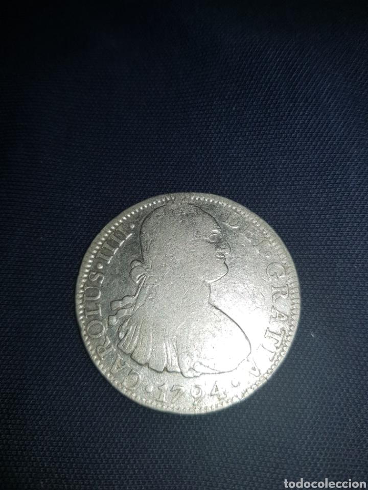 real de a ocho carlos cuarto 1794 méjico f m - Comprar Monedas de ...