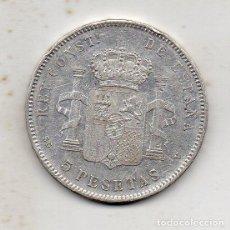 Monedas de España: ALFONSO XIII. 5 PESETAS. AÑO 1897 *18 *97. SG-V. PLATA.. Lote 127276755