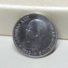 Monedas de España: MONEDA DE PLATA - 50 CÉNTIMOS DE ALFONSO XIII (1892). Lote 127869063