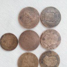 Monedas de España: CENTIMOS 1870/1877. Lote 128152659