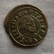 Monedas de España: 16 MARAVEDIS FELIPE 4 1663 SEGOVIA. Lote 128531094