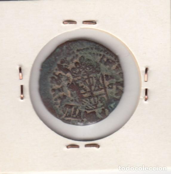 Monedas de España: moneda del reinado de felipe iv año 1662 valor 16 maravedis cobre (error acuñación en reverso). mbc+ - Foto 2 - 128541663