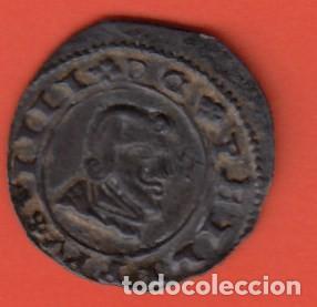 MONEDA DEL REINADO DE FELIPE IV AÑO1663 VALOR 8 MARAVEDIS COBRE (ERROR DE ACUÑACIÓN EN REVERSO). EBC (Numismática - España Modernas y Contemporáneas - De Reyes Católicos (1.474) a Fernando VII (1.833))