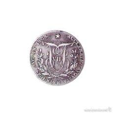 Monedas de España: MEDALLA DE PLATA PLOCLAMACIÓN FERNANDO VII. MÓDULO 2 REALES. AÑO: 1808. Lote 128584991
