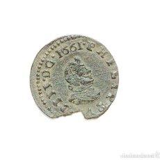 Monedas de España: FELIPE IV - 16 MARAVEDIS 1661 MADRID Y. MD EN ANVERSO. Lote 128699539