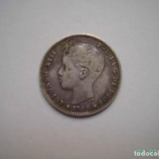 Monedas de España: PESETA DE PLATA DE ALFONSO XIII DE 1900.. Lote 128705959