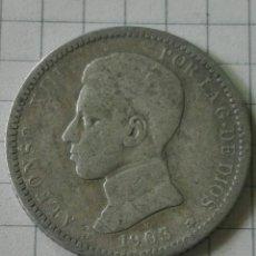 Monedas de España: MONEDA 1 PESETA ALFONSO XIII 1903-*----. Lote 128791546