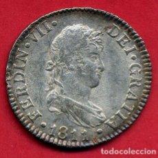 Monedas de España: MONEDA PLATA, FERNANDO VII , 2 REALES 1811 , CADIZ , MBC++ ,ORIGINAL , B20. Lote 128886447