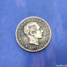 Monedas de España: CINCO CENTIMOS 5 1877. Lote 128973579