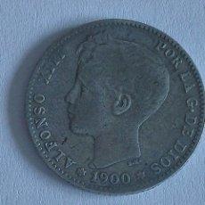 Monedas de España: MONEDA ALFONSO XIII 1 PESETA 1900. Lote 129573570