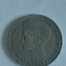 Monedas de España: MONEDA ALFONSO XIII 1 PESETA 1900.MBC. Lote 129573686