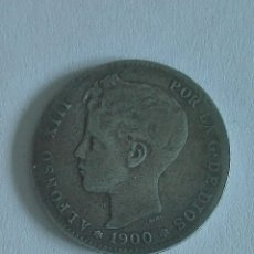 Monedas de España: MONEDA ALFONSO XIII 1 PESETA 1900.MBC. Lote 129573866