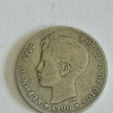 Monedas de España: MONEDA ALFONSO XIII 1 PESETA 1900.MBC. Lote 129648363