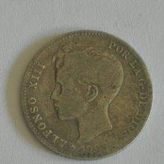 Monedas de España: MONEDA ALFONSO XIII 1 PESETA 1900.MBC. Lote 129648479