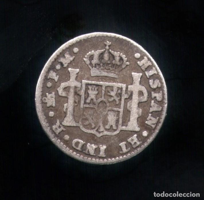 Monedas de España: 1/2 Real Carlos IV 1798 Mexico - FM - Plata - Foto 2 - 130664108