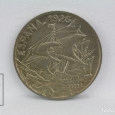 Monedas de España: MONEDA ALFONSO XIII - 25 CÉNTIMOS 1925 PCS - NIQUEL - CONSERVACIÓN EBC+. Lote 131232840