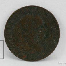 Monedas de España: MONEDA ISABEL II - 1/2 CÉNTIMO DE ESCUDO 1868 OM / BARCELONA - COBRE - CONSERVACIÓN BC. Lote 131232968