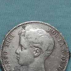 Monedas de España: 1 PESETA PLATA 1899 *18*99 ALFONSO XIII. Lote 131483709