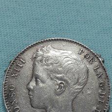 Monedas de España: 1 PESETA PLATA ALFONSOXIII 1900 *19*00. Lote 131485245