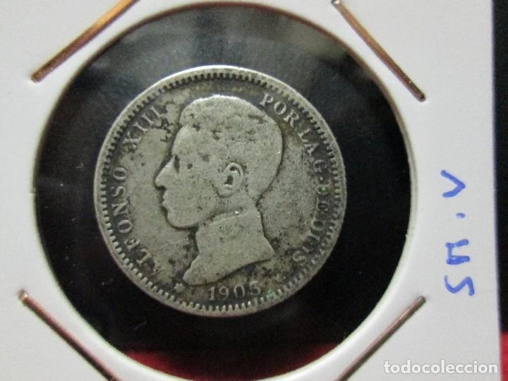 1 PESETA 1903 ALFONSO XIII PLATA (Numismática - España Modernas y Contemporáneas - De Isabel II (1.834) a Alfonso XIII (1.931))