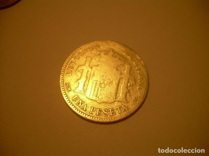 Monedas de España: LOTE DE CUATRO MONEDAS..3 DE PLATA Y UNA DE ALUMINIO. - Foto 10 - 131900902
