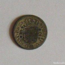 Monedas de España: MONEDA DE 2 MARAVEDIS COBRE. FELIPE V. S. XVIII CECA SEGOVIA. EN BUEN ESTADO. 2 CM DE DIÁMETRO.. Lote 132658578