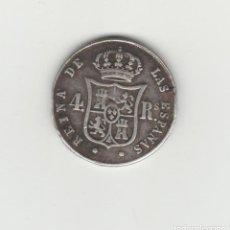 Monedas de España: ISABEL II- 4 REALES-1853-SEVILLA. Lote 132717126