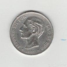 Monedas de España: ALFONSO XII- 5 PESETAS- 1881*18-81 MSM. Lote 133006974