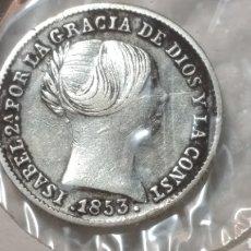 Monedas de España - ISABEL II 1 REAL 1853 SEVILLA - 133262615