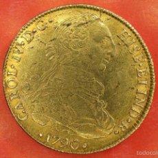 Monedas de España: ESCASA ONZA ( 8 ESCUDOS ) CARLOS IV POTOSI. Lote 58119013