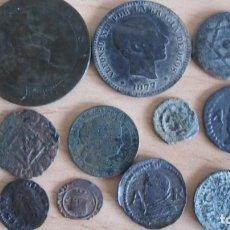 Monedas de España: LOTE DE MONEDAS DE DIFERENTES EPOCAS. Lote 133768666