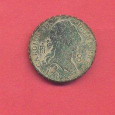 Monedas de España: CARLOS III 8 MARAVEDIS 1787 SEGOVIA, VER FOTOS. Lote 133883474