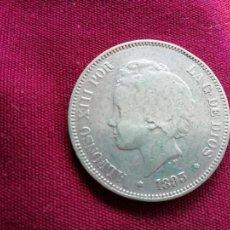 Monedas de España: DURO DE 5 PESETAS DE PLATA DE 1893 PG L. Lote 134047658