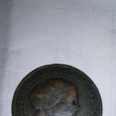 Monedas de España: MONEDA 1868. 5 CÉNTIMOS DE ESCUDO. Lote 134106135