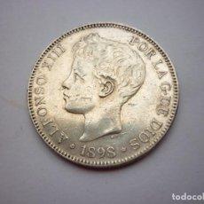 Monedas de España: MONEDA DE 5 PESETAS. ALFONSO XIII. 1898 - S.G.V. ESTRELLA 98. Lote 134108126