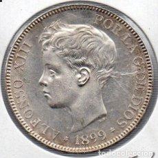 Monedas de España: 5 PESETAS PLATA 1899 *18-99. Lote 134138346