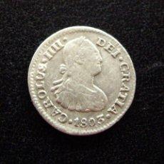 Monedas de España: CARLOS IV - 1/2 REAL, 1803. MÉJICO. Lote 134427514