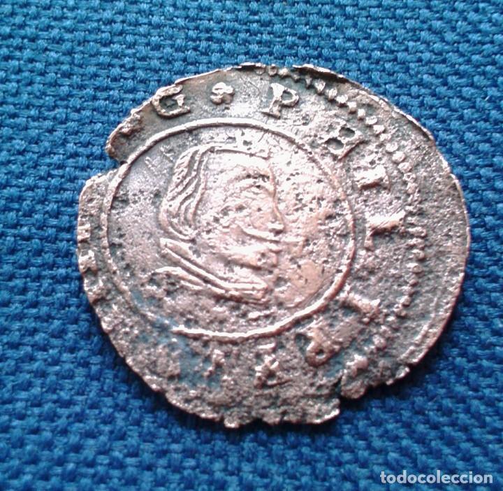 16 MARAVEDIS FELIPE LV 1663 SEGOVIA (Numismática - España Modernas y Contemporáneas - De Reyes Católicos (1.474) a Fernando VII (1.833))