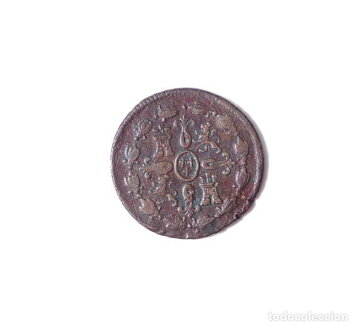 Monedas de España: CARLOS IIII.- 4 MARAVEDIS 1800 SEGOVIA - Foto 2 - 135463498