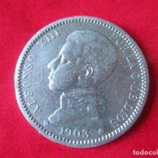 Monedas de España: ALFONSO XIII. 1 PESETA DE PLATA. 1903. Lote 135712159