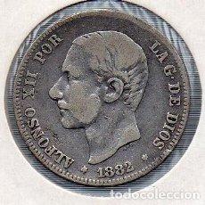 Monedas de España: MONEDA DE ALFONSO XII 2 PESETAS 1879, PLATA. . Lote 136248486