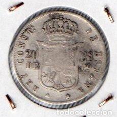 Monedas de España: MONEDA DE ALFONSO XII 2 PESETAS 1879, PLATA. . Lote 136249246