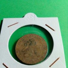 Monedas de España: CINCO CÉNTIMOS ISABEL II. Lote 136516334