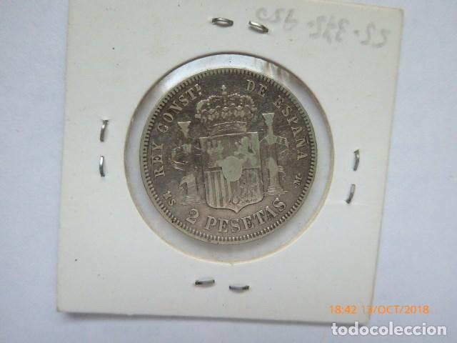 Monedas de España: españa, 2 ptas, 1883/83, MS-M. - Foto 2 - 136541706