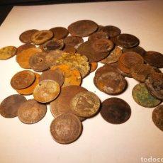 Monedas de España: LOTE DE MONEDAS ANTIGUAS.. Lote 136755697