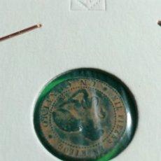 Monedas de España: MONEDA DE UN CÉNTIMO ISABEL II. Lote 136895161